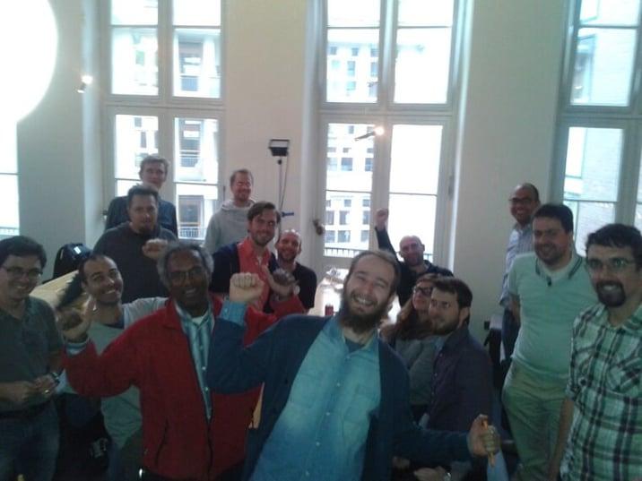 Docker Hack Day in Amsterdam
