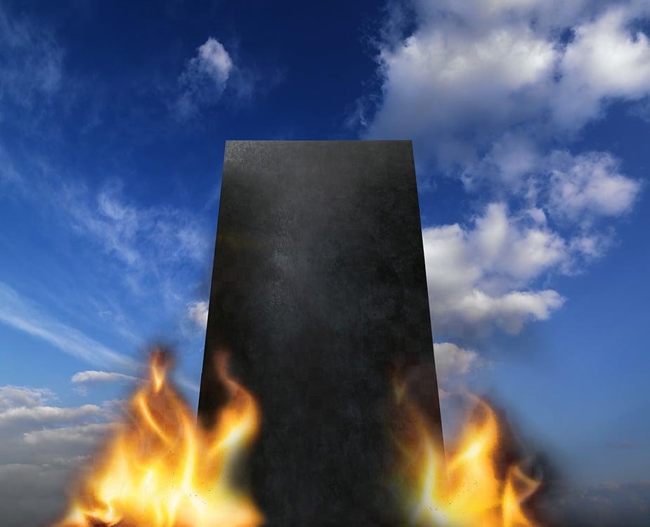 burningMonolith