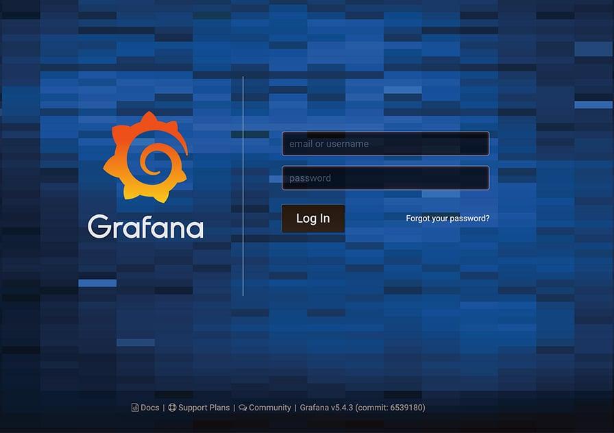 grafana-login-pagePS