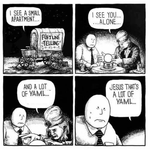 I see lots of YAML