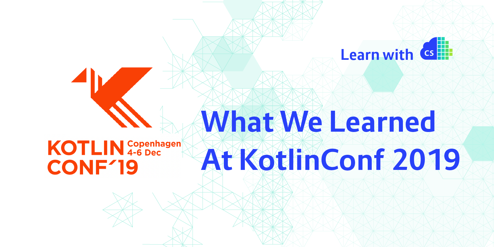 What We Learned at KotlinConf 2019, Container Solutions