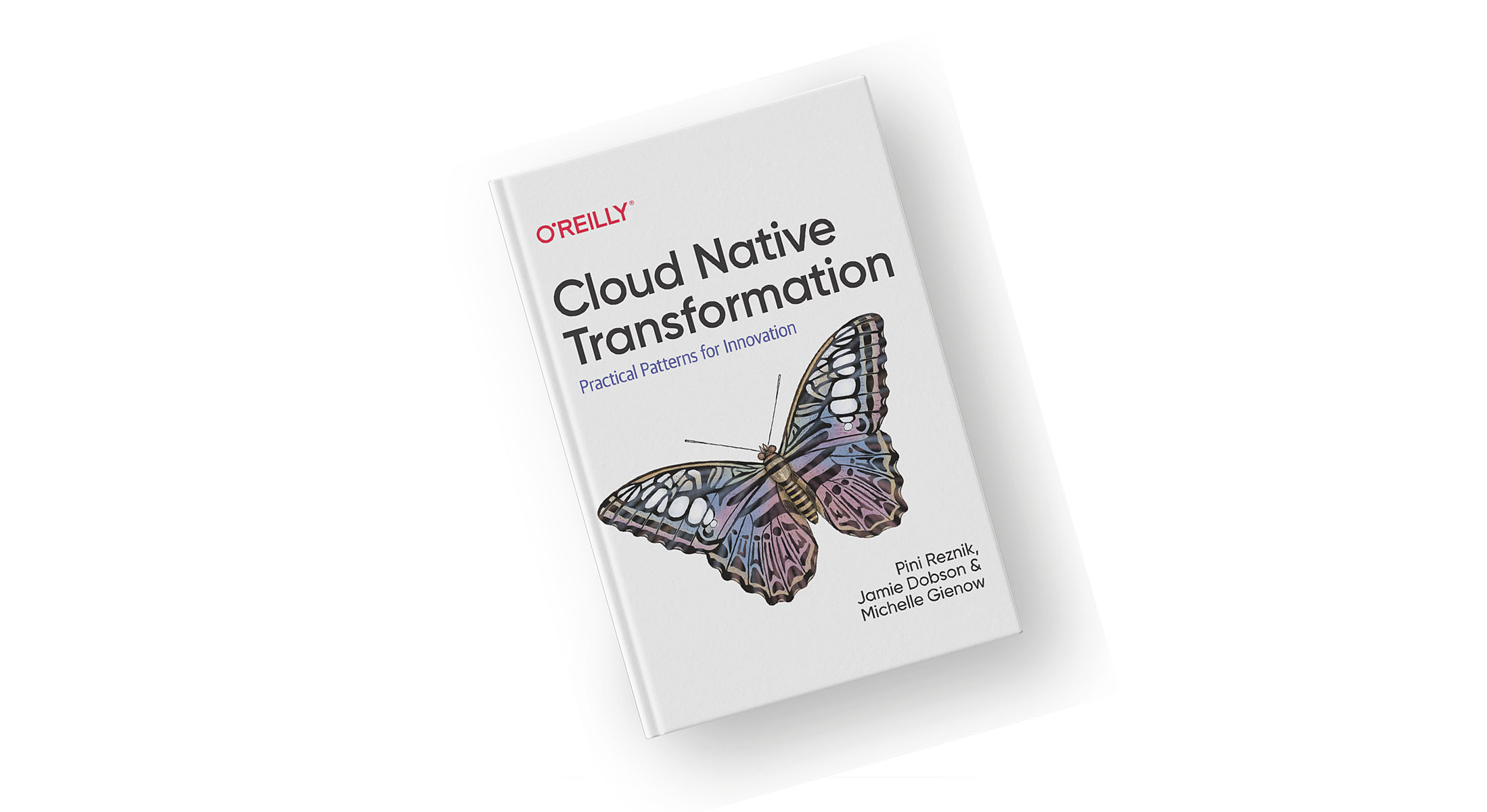 Cover of Cloud Native Transformation book.